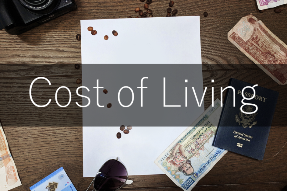 Cost of Living Taiwan
