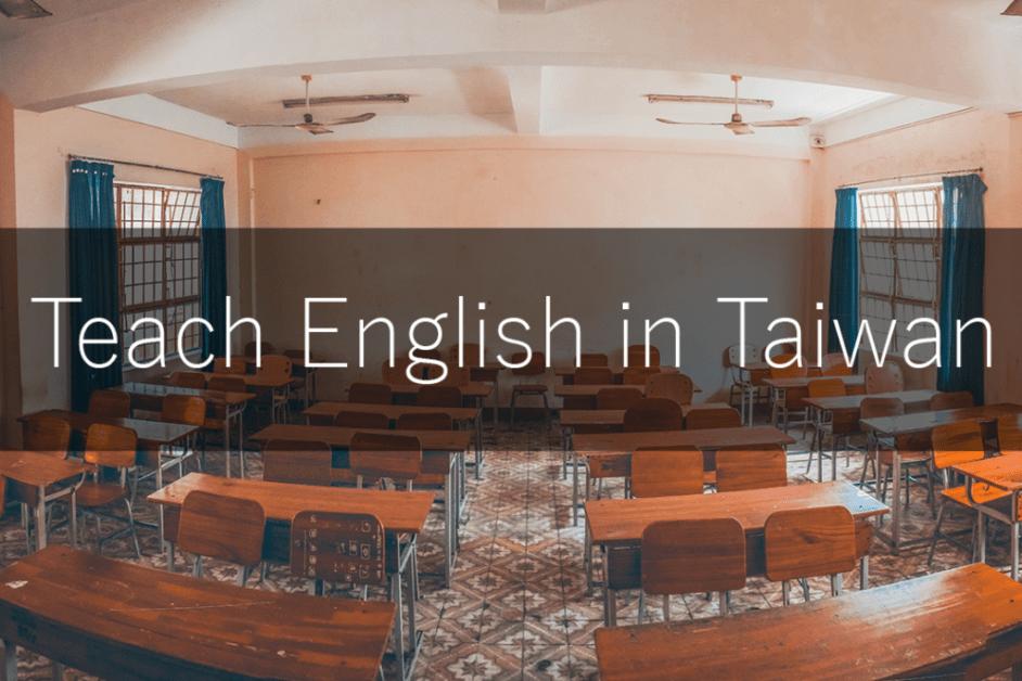 teach English Taiwan