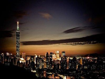 Visiting Taipei 101 Observatory